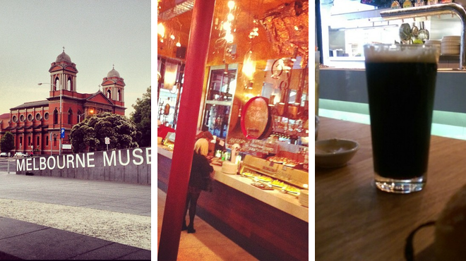 Experience exhibits ⇨ Tapas restaurant ⇨ Brewery