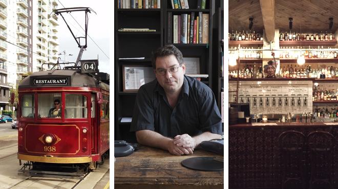 Australian restaurant ⇨ Bookstore ⇨ Whisky bar