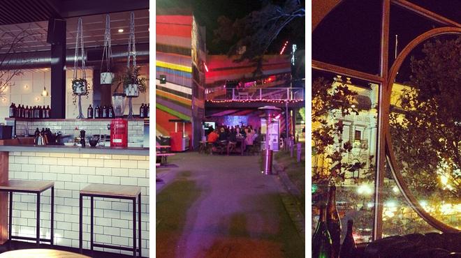 Café ⇨ Music venue ⇨ Wine bar