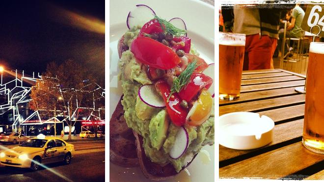 Performing arts venue ⇨ Café ⇨ Bar