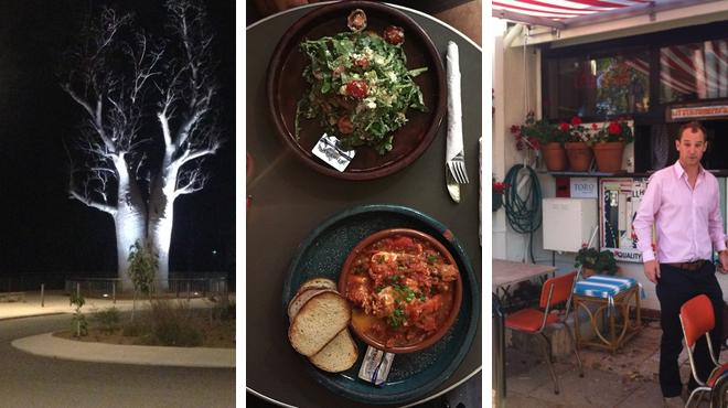 Garden ⇨ Greek restaurant ⇨ Wine bar