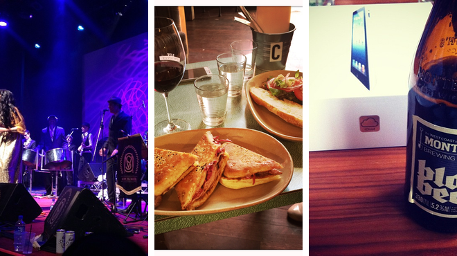 Theater ⇨ Restaurant ⇨ Wine bar