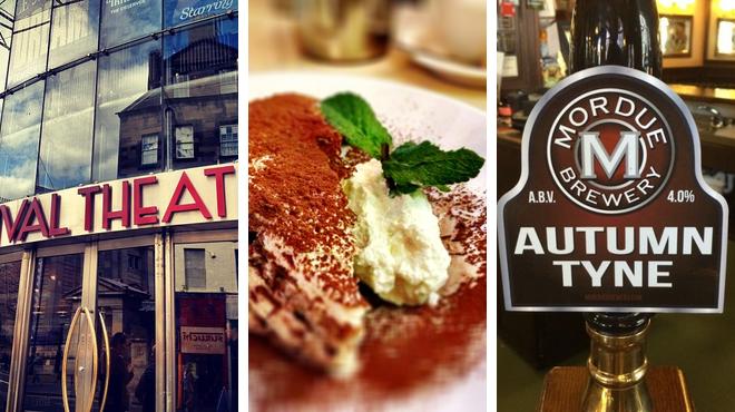 Theater ⇨ Italian restaurant ⇨ Bar