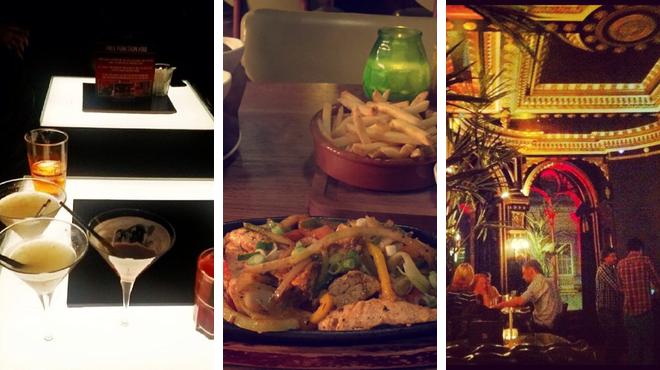 Piano bar ⇨ South american restaurant ⇨ Bar