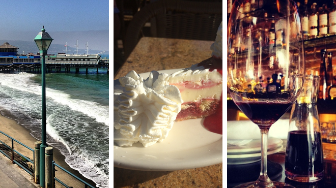 Harbor / marina ⇨ American restaurant ⇨ Wine bar