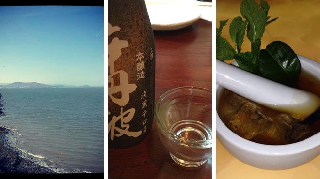 Park ⇨ Japanese restaurant ⇨ Delicious Cocktails