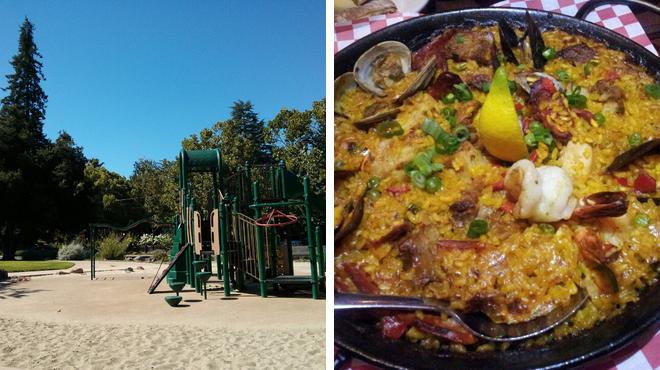 Park ⇨ Tapas restaurant