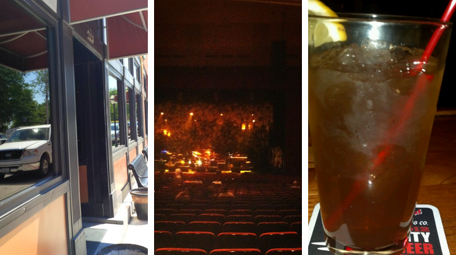American restaurant ⇨ Theater ⇨ Brewery