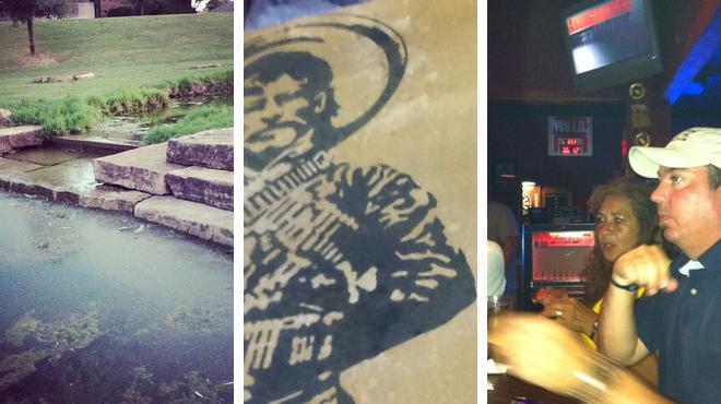 Trail ⇨ Mexican restaurant ⇨ Sports bar