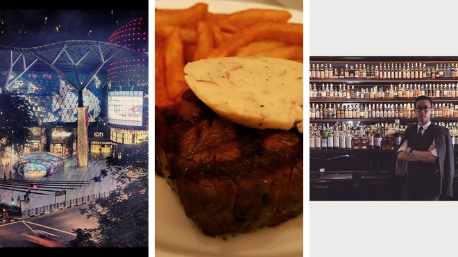 Mall ⇨ French restaurant ⇨ Whisky bar