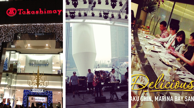 Mall ⇨ Performing arts venue ⇨ Japanese restaurant