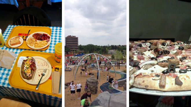 Bbq joint ⇨ Park ⇨ Brewery