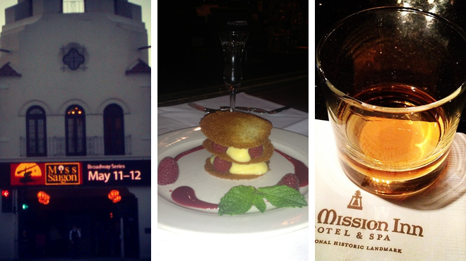 Performing arts venue ⇨ Italian restaurant ⇨ Hotel bar