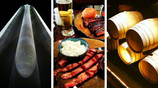 Learn about history ⇨ Bbq joint ⇨ Wine bar