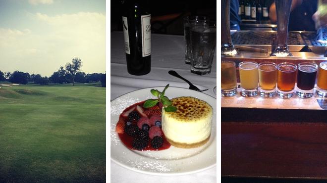 Golf course ⇨ American restaurant ⇨ Bar