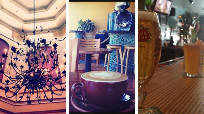 Golf course ⇨ Coffee shop ⇨ Lounge