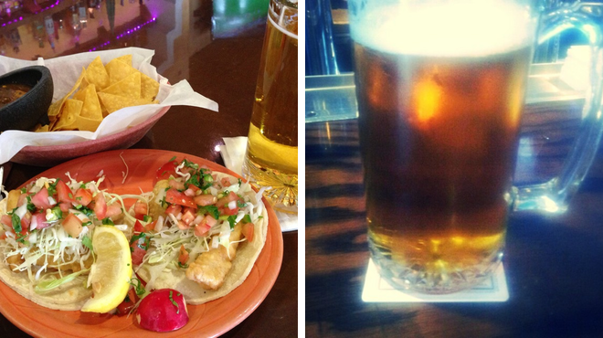 Mexican restaurant ⇨ Sports bar