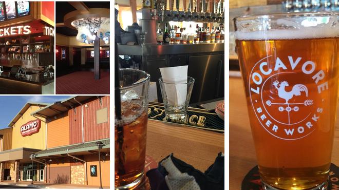 Catch a movie ⇨ American restaurant ⇨ Brewery