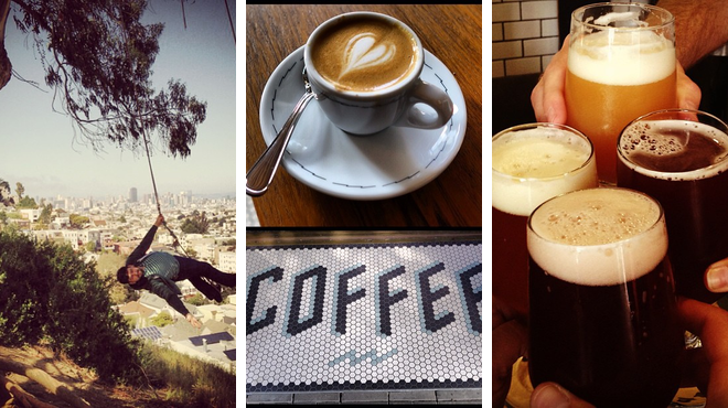 Scenic Views ⇨ Coffee shop ⇨ Brewery