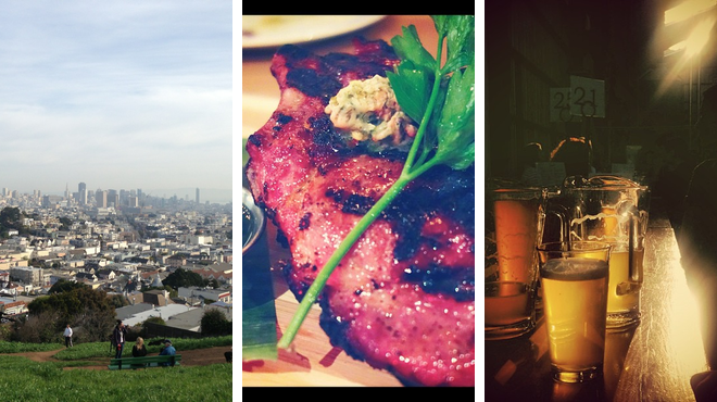 Park ⇨ Steakhouse ⇨ Brewery