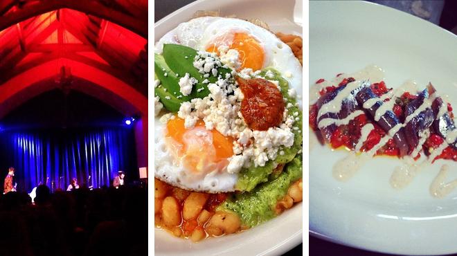 Music venue ⇨ Latin american restaurant ⇨ Bar