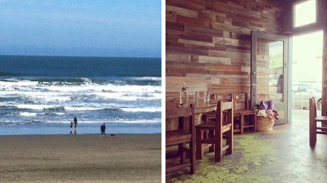 Surf spot ⇨ American restaurant