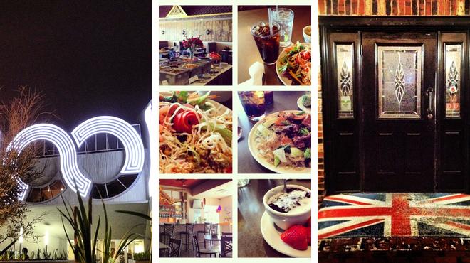 Catch a movie ⇨ Thai restaurant ⇨ Pub