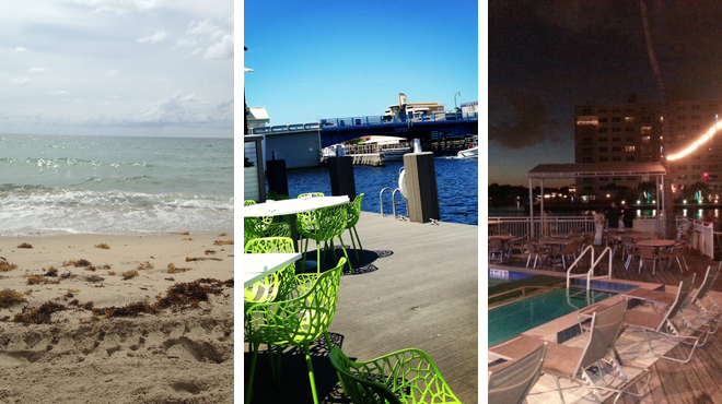 Beach ⇨ American restaurant ⇨ Bar