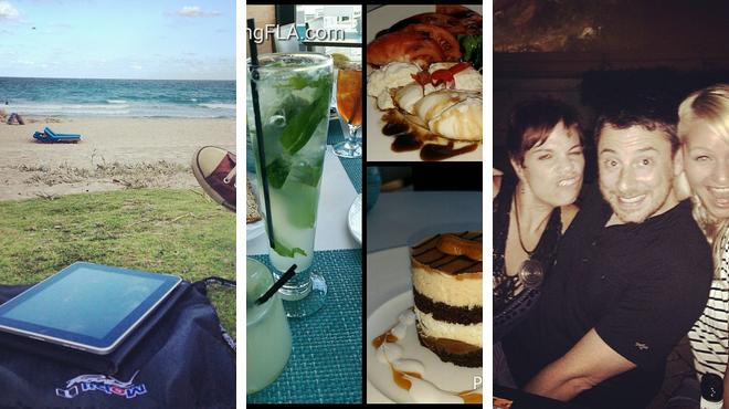 Beach ⇨ Seafood restaurant ⇨ Bar