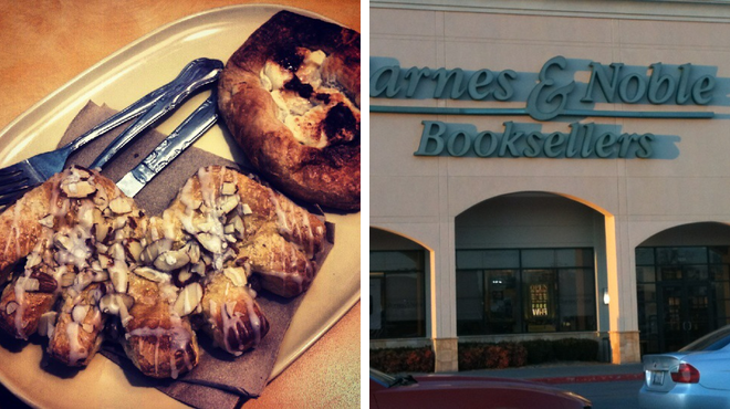 Bakery ⇨ Bookstore
