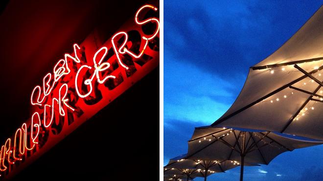 Burger joint ⇨ Hotel bar