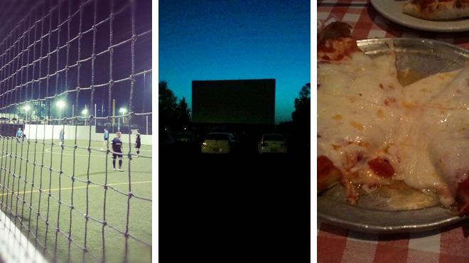 Athletics & sports ⇨ Catch a movie ⇨ Italian restaurant