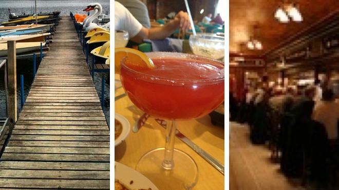 Park ⇨ Mexican restaurant ⇨ Pub