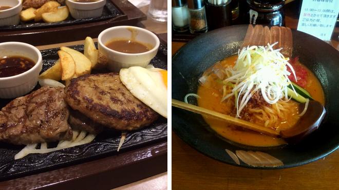 Steakhouse ⇨ Ramen restaurant