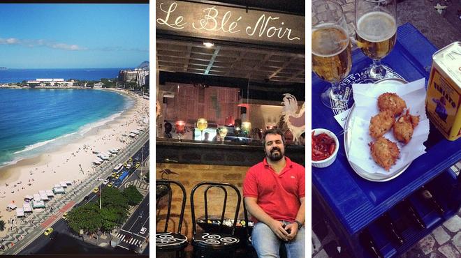 Beach ⇨ French restaurant ⇨ Bar