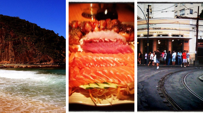 Beach ⇨ Japanese restaurant ⇨ Bar