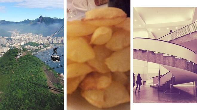 Scenic Views ⇨ Churrascaria ⇨ Admire art