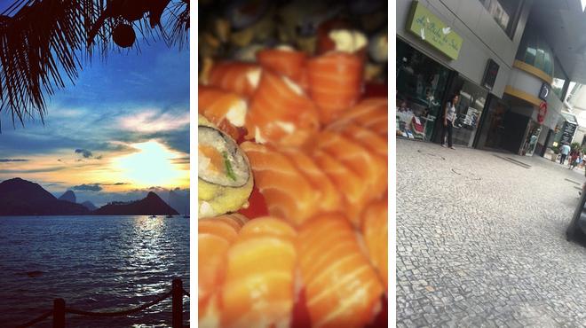Harbor / marina ⇨ Brazilian restaurant ⇨ Street