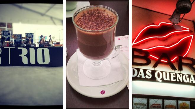 Admire art ⇨ Coffee shop ⇨ Bar