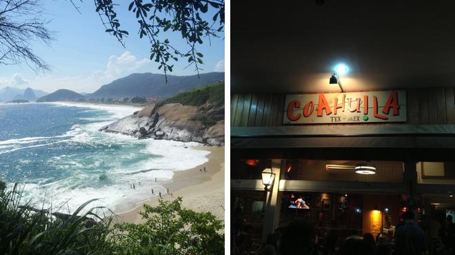 Surf spot ⇨ Mexican restaurant