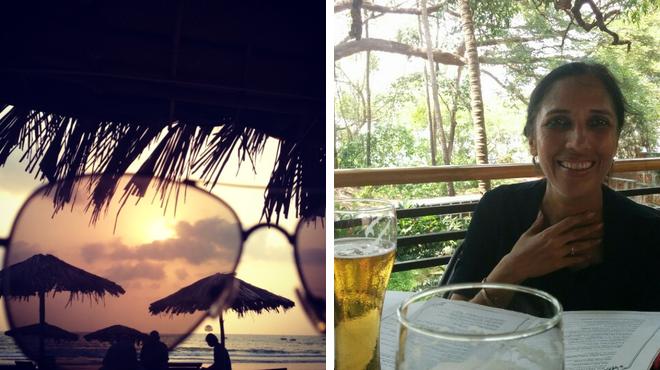Beach ⇨ Asian restaurant