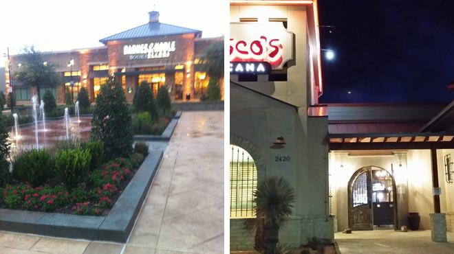 Mall ⇨ Mexican restaurant