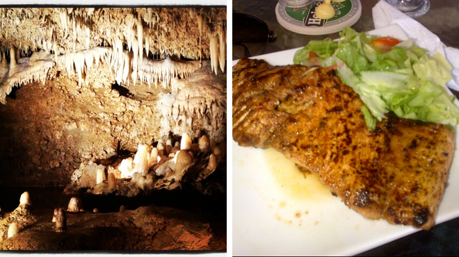 Park ⇨ Caribbean restaurant