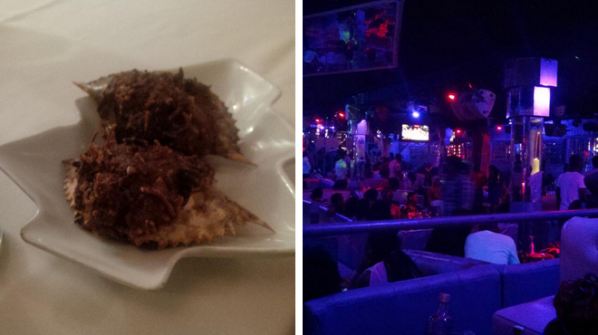 Vietnamese restaurant ⇨ Nightclub