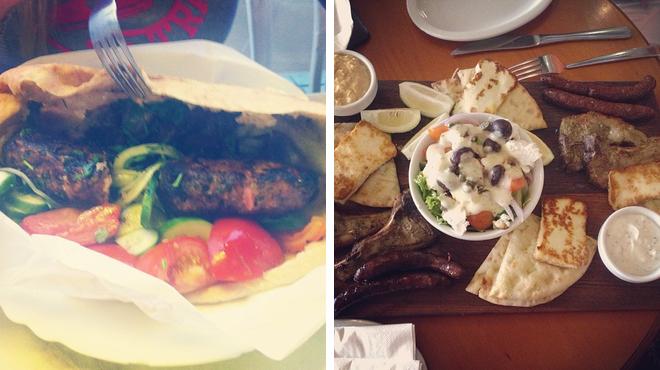 Greek restaurant ⇨ Pub