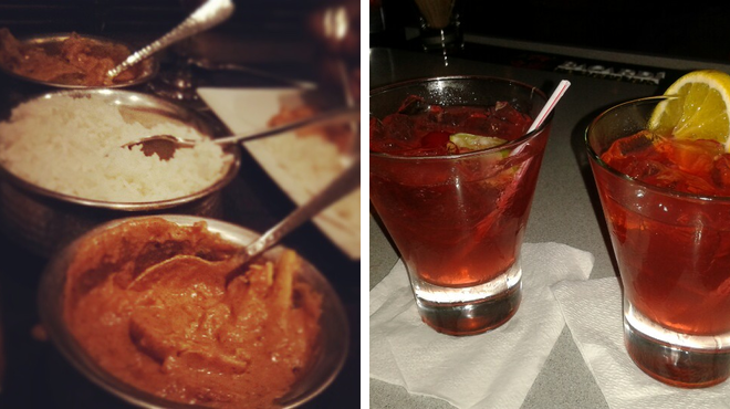 Indian restaurant ⇨ Delicious Cocktails
