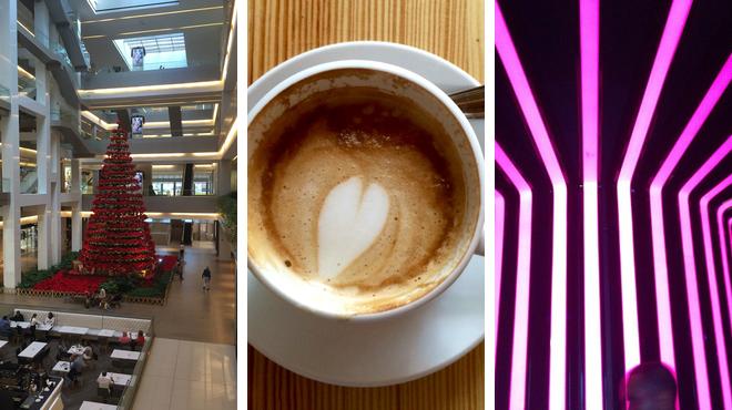 Mall ⇨ Café ⇨ Nightclub