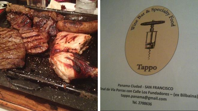 Argentinian restaurant ⇨ Wine bar