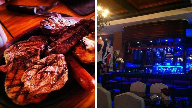 Steakhouse ⇨ Wine bar