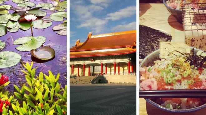 Garden ⇨ Catch a show ⇨ Sushi restaurant